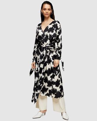 Topshop Print Dress