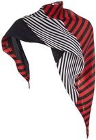 Issey Miyake geometric pleated scarf