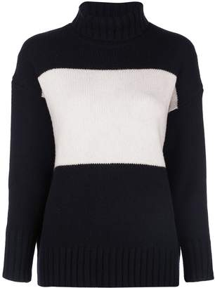 Polo Ralph Lauren colour-block turtleneck jumper