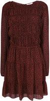 MICHAEL Michael Kors long-sleeved patterned dress - women - Polyester - 4