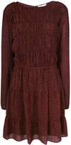MICHAEL Michael Kors long-sleeved patterned dress