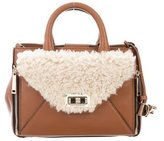 Diane von Furstenberg Shearling Mini Secret Agent Bag w/ Tags