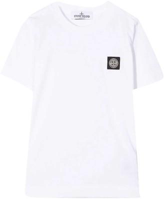 Stone Island Junior White T-shirt