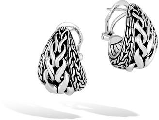 John Hardy Asli Classic Chain Buddha Belly Earrings