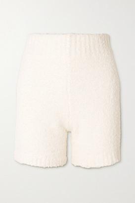 SKIMS Cozy Knit Boucle Shorts - Bone