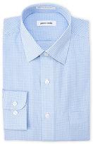 Pierre Cardin Regular Fit Blue Check Dress Shirt