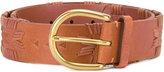 Polo Ralph Lauren stylised trim belt - women - Calf Leather - S
