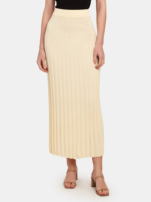 Bec & Bridge Eden Rib Midi Skirt