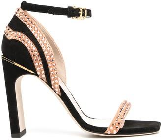 Pollini x Nataly Osmann embellished sandals