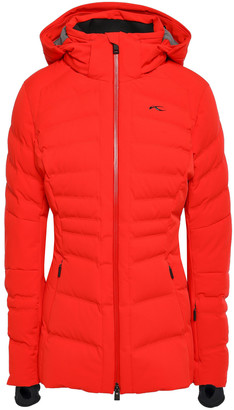 Kjus Duana Two-tone Quilted Shell Hooded Down Jacket