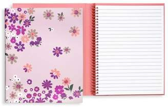 Kate Spade Pacific Petals Concealed Spiral Notebook