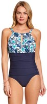 Penbrooke Palm Spring High Neck One Piece Swimsuit 8150434