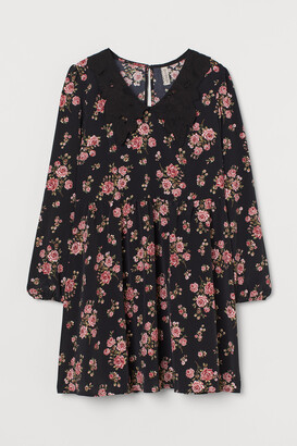 H&M Lace-collar dress