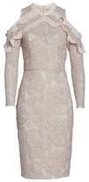 Cooper St Women's Ruffle Lace Sheath Dress