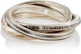 Werkstatt:Munchen Men's Forever Ring Set-SILVER