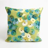 Liora Manné Visions II Pansy Lumbar Shape Indoor Throw Pillow in Lime Green