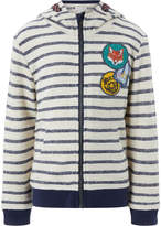 Monsoon Sydney Stripe Zip Up Hoody