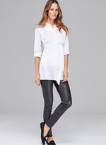 Isabella Oliver Rowsley Maternity Leather Leggings
