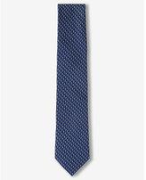 Express Narrow Micro Print Silk Tie