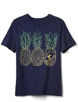 Gap Graphic short sleeve slub tee