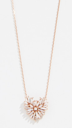 Suzanne Kalan 18k Angel Heart Necklace