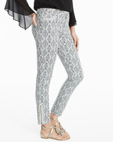Black And White Printed Jeans - ShopStyle