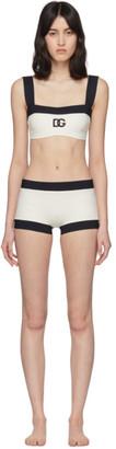 Dolce & Gabbana Off-White Bikini
