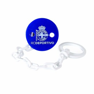 Rc Deportivo RC Sports Brooch Pin Unisex Blue/White Unique