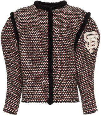 Gucci Embroidered Tweed Jacket