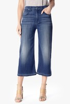7 For All Mankind Culotte With Let Down Hem In Medium Broken Twill