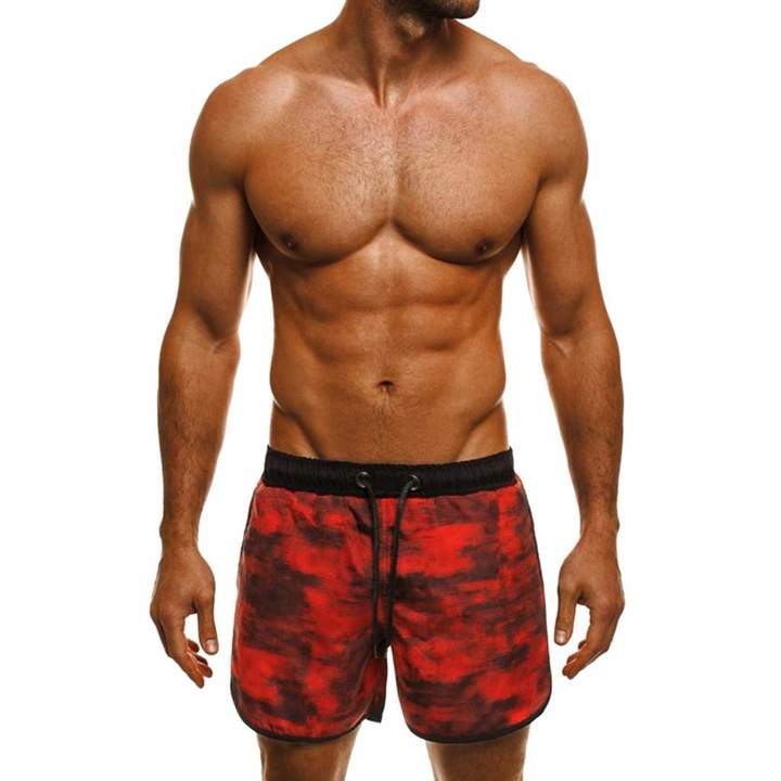 Objective Board Shorts Men 2019 New Brand Casual Pockets Training Bodybuilding Camouflage Summer Shorts Workout Fitness Short Beautiful And Charming Men's Clothing