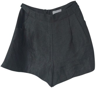 Finders Keepers Black Cloth Shorts for Women