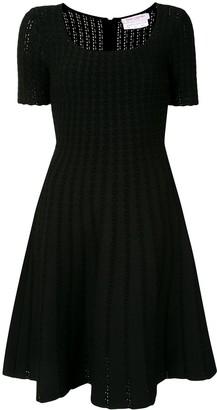 Carolina Herrera Knitted Flared Dress