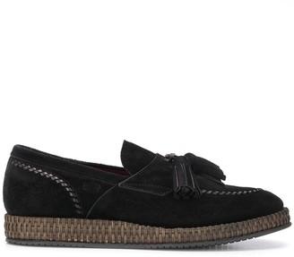 Dolce & Gabbana Tassel Suede Slippers