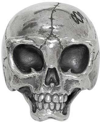 Yohji Yamamoto Silver Alien Skull Ring