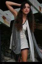 Nightcap Clothing Motif Vest in Heather Grey