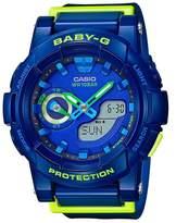 Casio Women's Baby G BGA185FS-2A Rubber Quartz Sport Watch