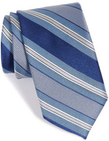 John W. Nordstrom R) Stripe Silk Tie