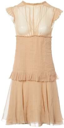 Chanel Beige Silk Dresses