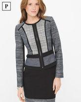 White House Black Market Petite Tweed Jacket