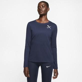 Nike Women's Long-Sleeve Training Top Dri-FIT NXR