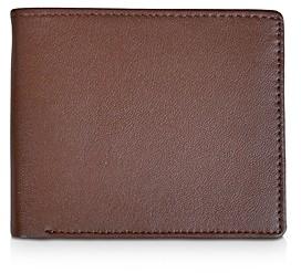 ROYCE New York Leather Rfid-Blocking Id Flap Bifold Wallet
