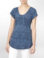 Calvin Klein Jeans Raglan Flutter Sleeve Top