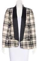 Haute Hippie Silk Open Front Blazer