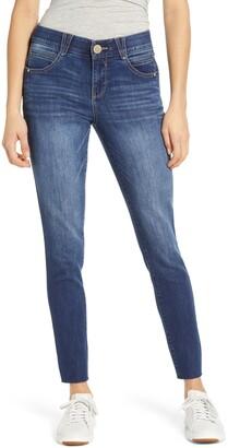 Wit & Wisdom Ab-Solution Raw Hem Skinny Jeans