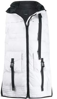 Pinko Padded Zip-Front Coat