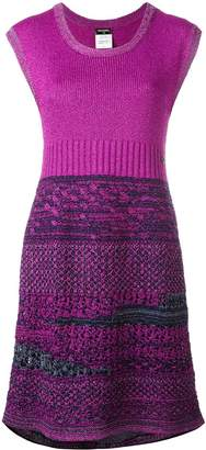 Chanel Pre-Owned 2009 bouclé knit dress