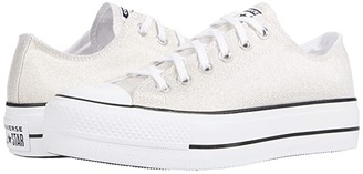 Converse Chuck Taylor(r) All Star Canvas Lift (Gold/Black/White 2) Women's Classic Shoes