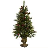 Asstd National Brand 4' Xmas Tree With Urn