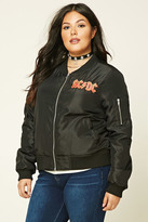 Forever 21 FOREVER 21+ Plus Size ACDC Tour Jacket